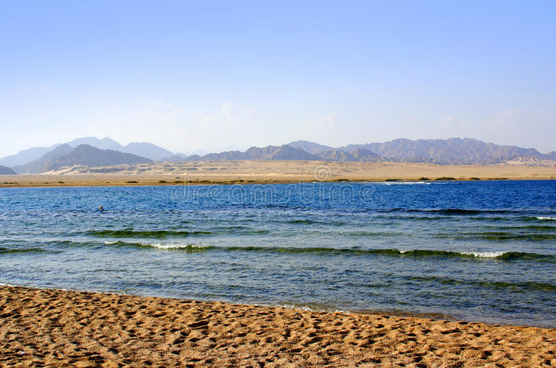 Sea in egypt royalty free stock images