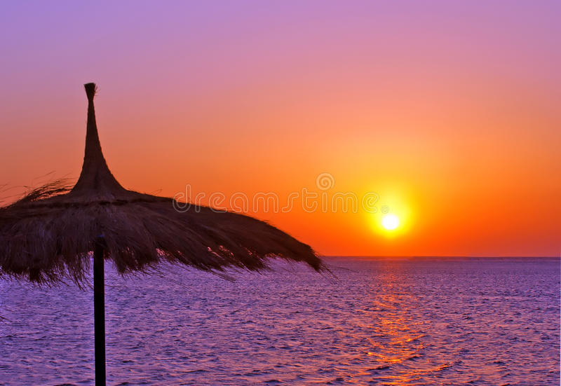 Sea in egypt royalty free stock photos