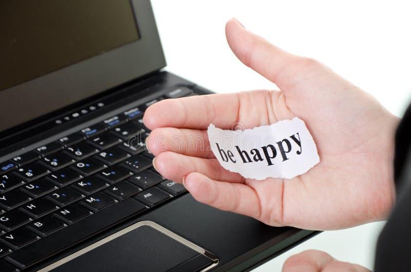 Sea feliz fotografía de archivo libre de regalías