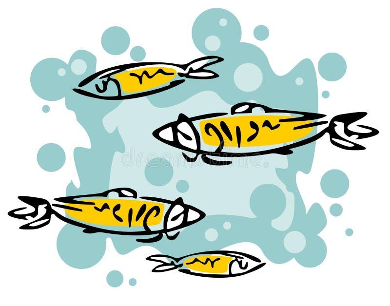 Sea fish stock illustration