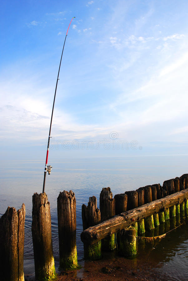 Download Sea fishing stock photo. Image of horizon, open, fish - 12736382