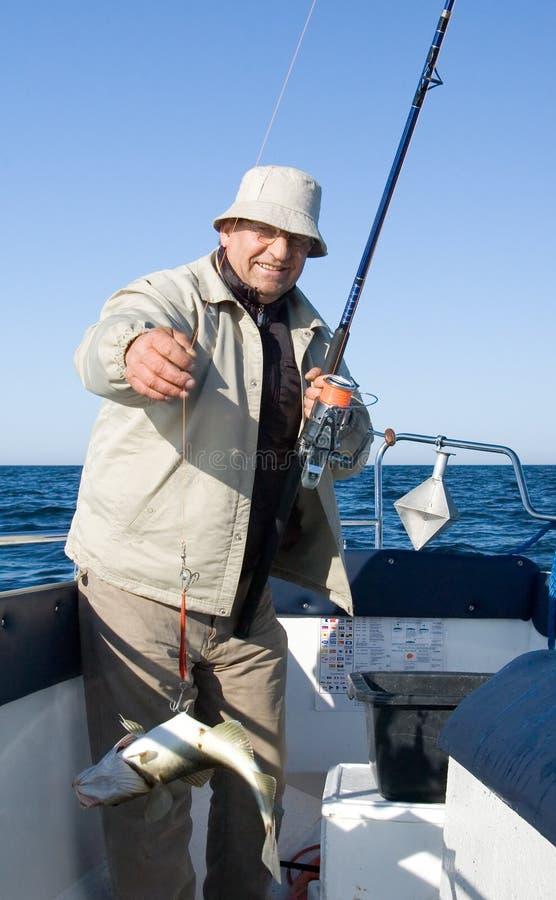 Sea Fishing. Royalty Free Stock Photo