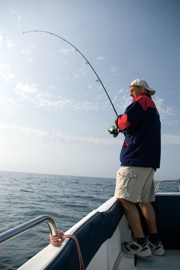 Free Sea Fishing. Royalty Free Stock Image - 2546676