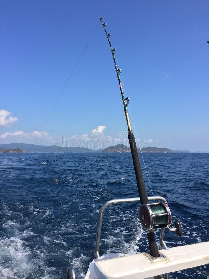 Download Sea fishing stock image. Image of clouds, fishing, around - 38212719