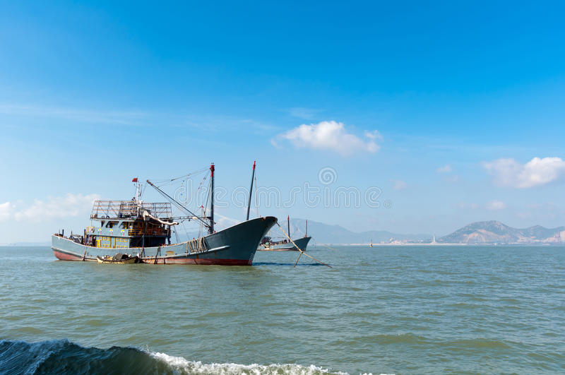 Download The sea and fishing boats stock image. Image of ocean - 26536337