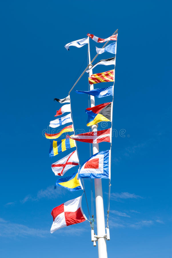 Download Sea Flags Royalty Free Stock Image - Image: 25428466