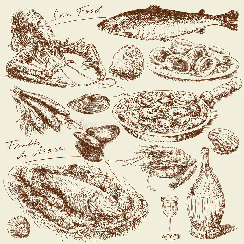 Free Sea Food Stock Photo - 23026380