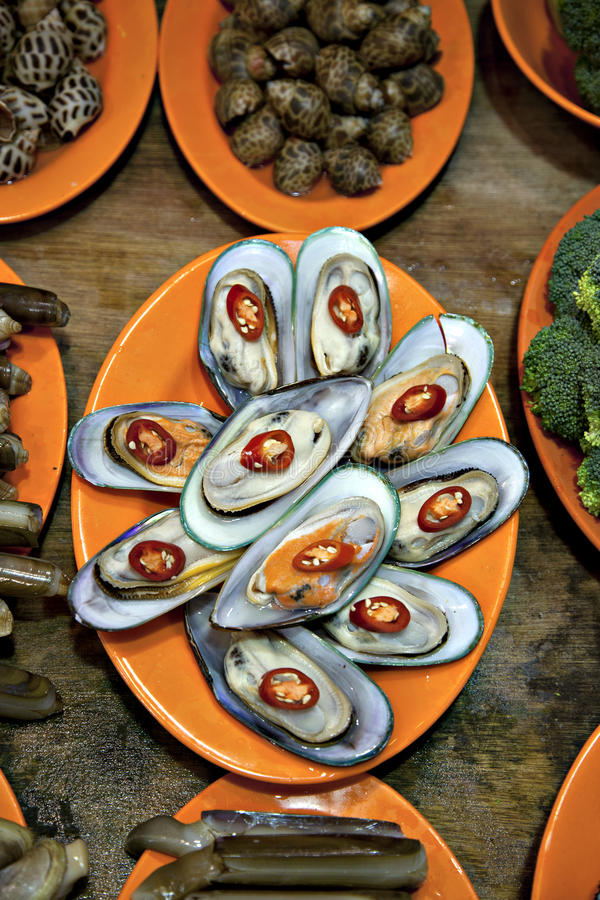 Download Sea foods stock photo. Image of food, oyster, cuisine - 22595208