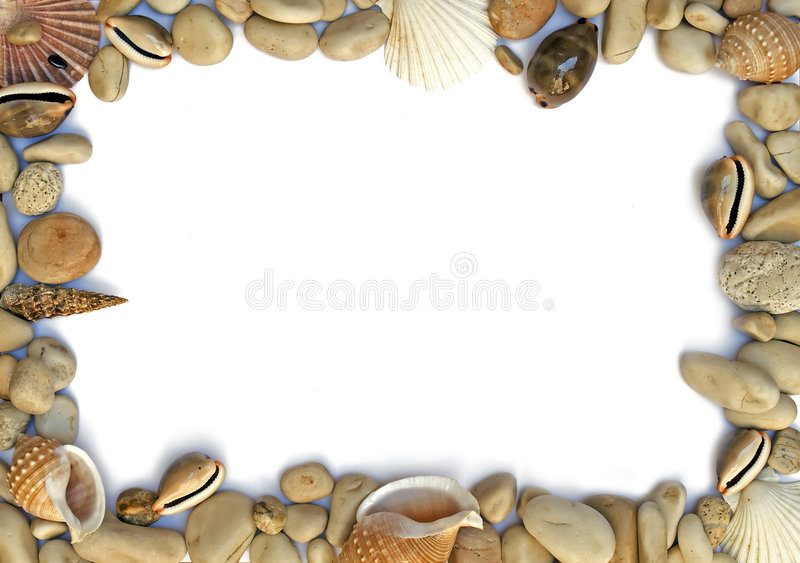 Sea frame royalty free stock image
