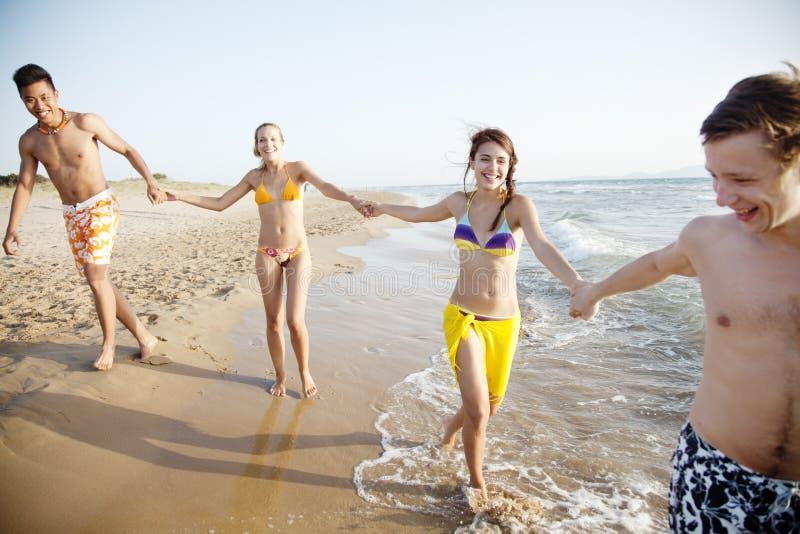 Download Sea fun stock photo. Image of hand, multi, culture, happy - 27317102