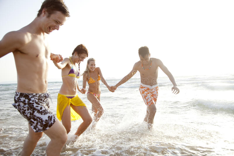 Download Sea fun stock image. Image of holiday, friendship, ethnic - 27317189