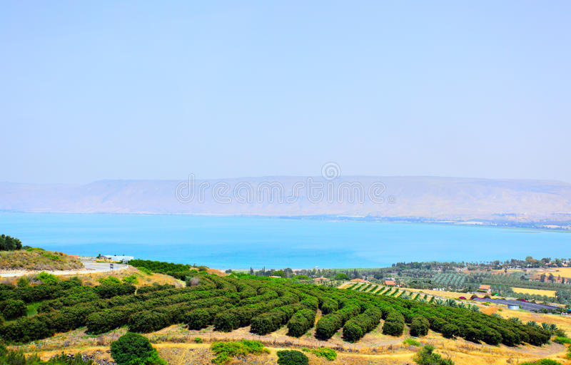 Download Sea of Galilee stock photo. Image of israel, east, religion - 12666808