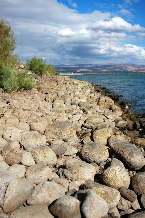 Sea of Galilee royalty free stock photography