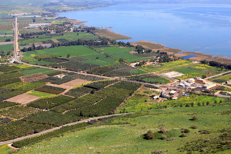 Sea of Galilee, Israel stock photos