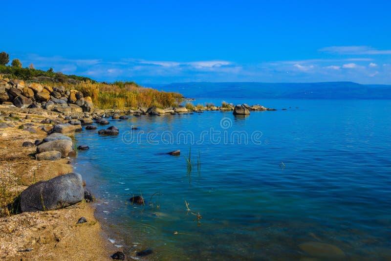 Sea of Galilee in Israel royalty free stock photos