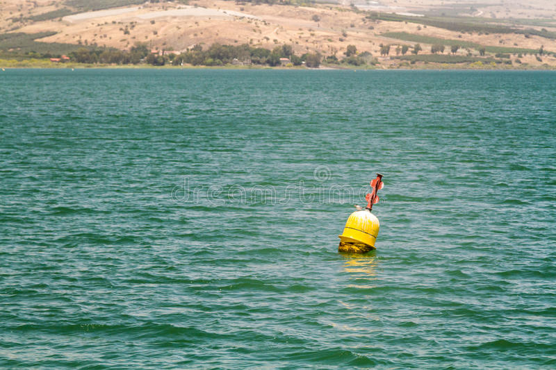 Sea of Galilee, Israel, view from boat royalty free stock photo