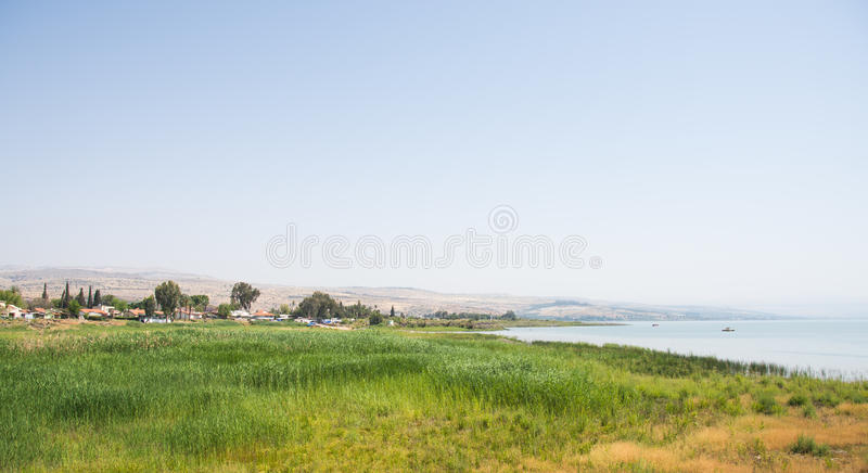 The sea of galilee royalty free stock image
