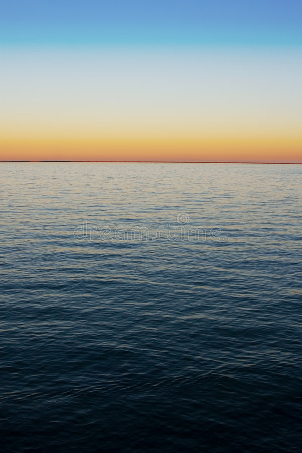Sea Gradient Stock Photo