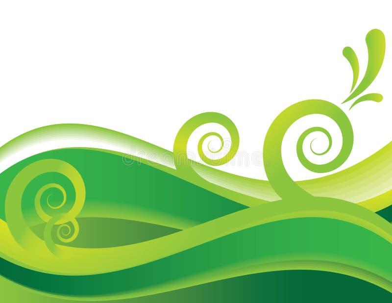 Sea of Green vector illustration
