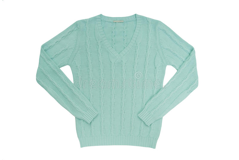 Download Sea-green Sweater Royalty Free Stock Photos - Image: 32778048