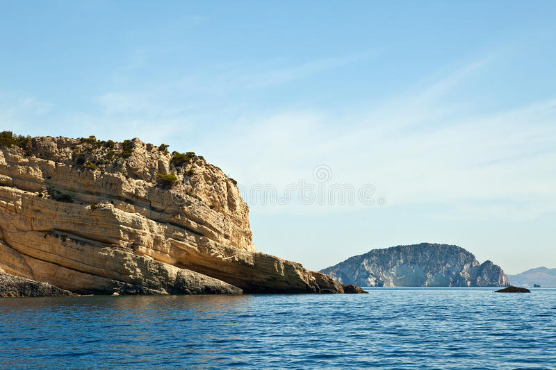 Download Sea harbor with blue water stock photo. Image of hill - 14357798