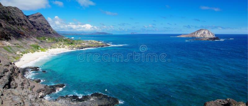 Sea in hawaii royalty free stock photos