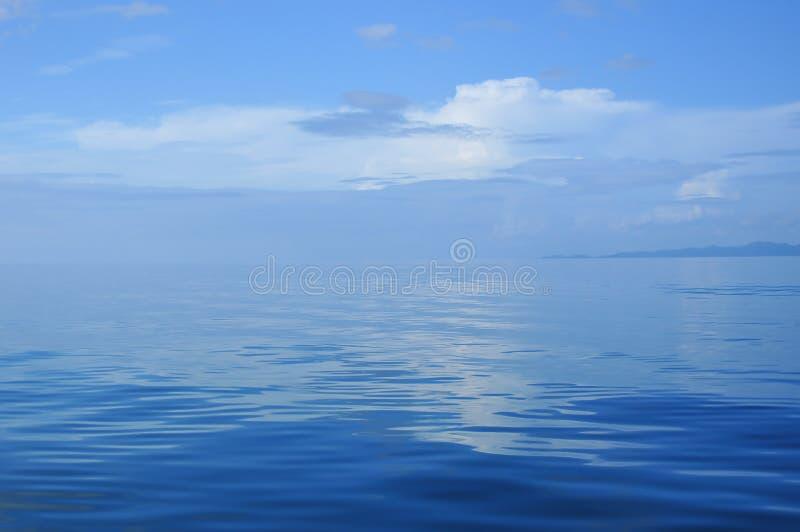 Sea&hemel stock afbeelding