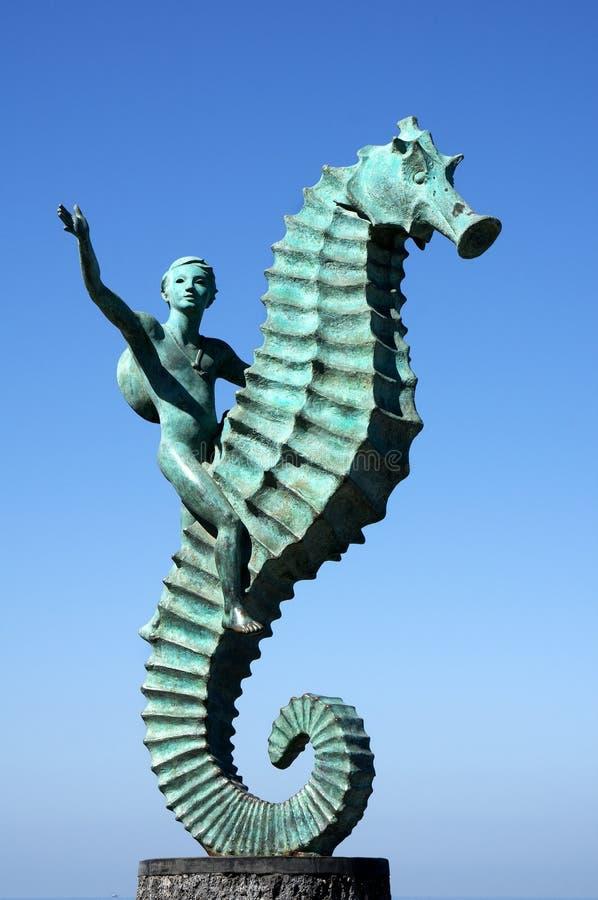 The Sea Horse Puerto Vallarta Mexico royalty free stock photo