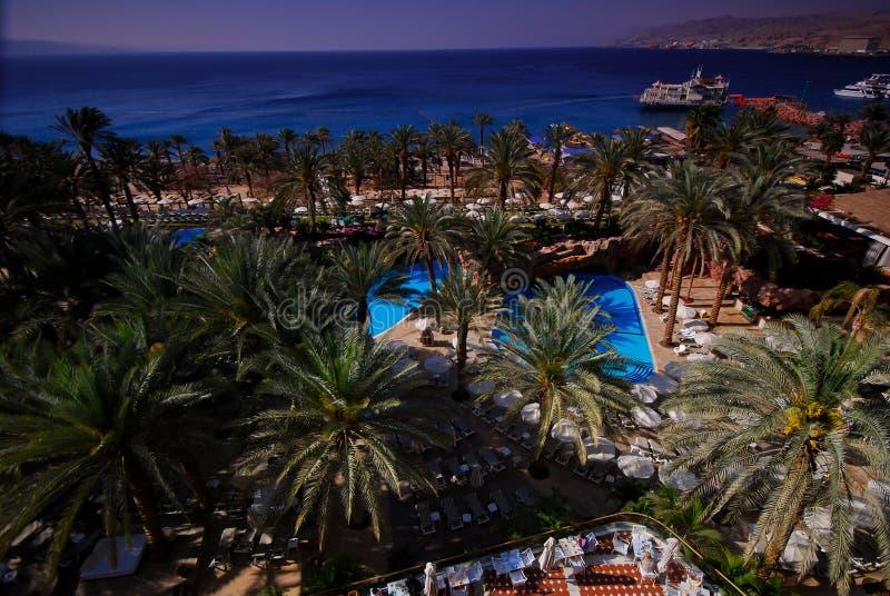 Sea Hotel Royalty Free Stock Photography