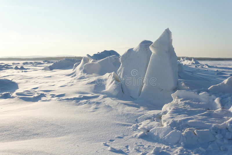 Download Sea ice stock photo. Image of winter, north, polar, hummock - 18381830