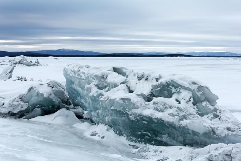 Download Sea ice stock photo. Image of floe, snow, landscape, season - 18674290