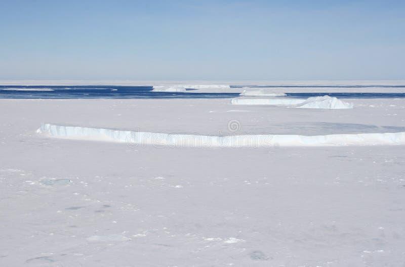Sea Ice On Antarctica Royalty Free Stock Photography
