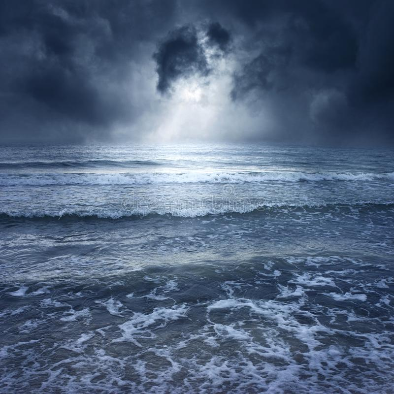 Download Sea II stock image. Image of dark, storm, horizon, ocean - 13144989