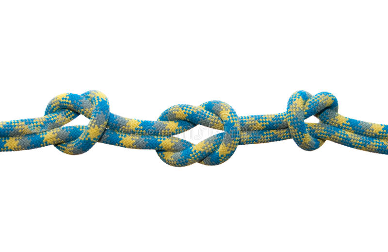 Download Sea knot. stock image. Image of knot, stretch, link, detail - 13589417