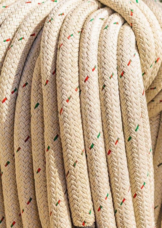 Sea Knots Ship Close Up. Close up sea knots ship background photo royalty free stock photography