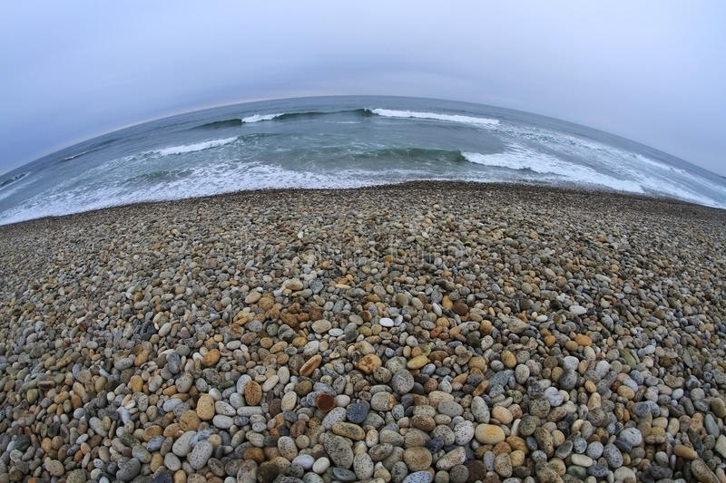 Download Sea and land stock photo. Image of pebbles, coast, planet - 20647390