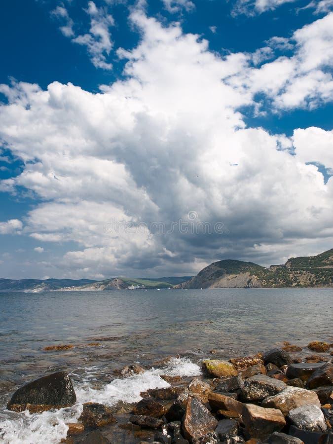 Download Sea landscape stock image. Image of edge, climate, mountain - 23328271
