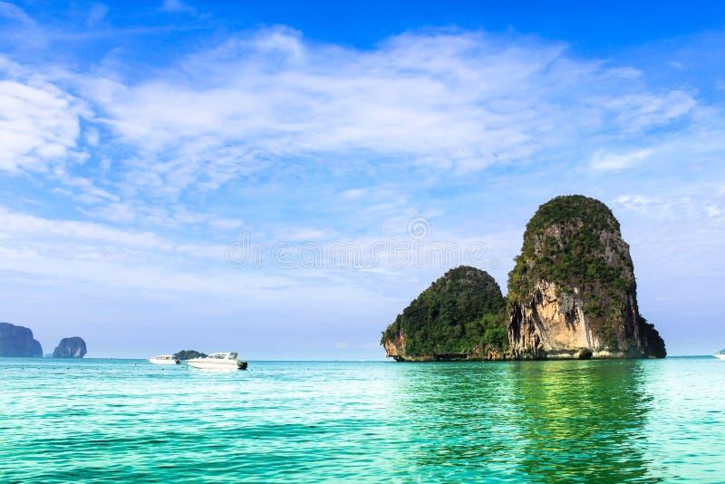 Sea landscape Beautiful island royalty free stock photography
