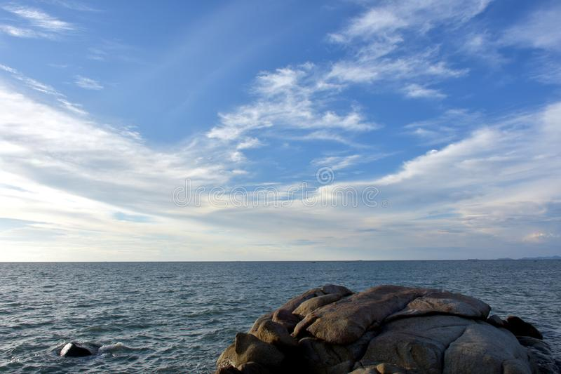 Sea Landscape. royalty free stock photos