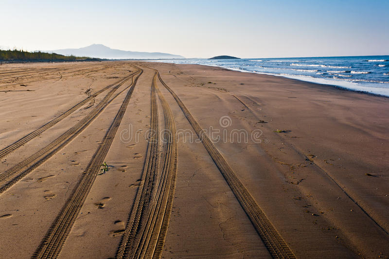 Download Sea landscape. stock photo. Image of sand, outdoors, perfect - 33414790
