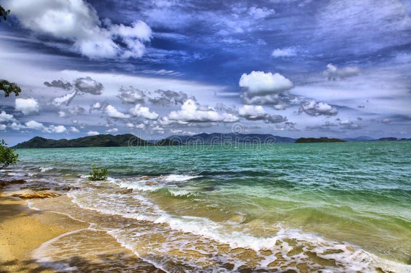 Sea landscape, Thailand stock photography