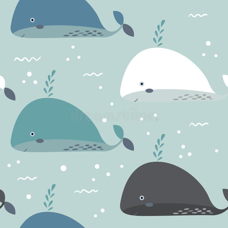 Sea life. Underwater world. Fish, jellyfish, sea bottom, backwaters ship, algae, treasure. Vector flat illustrations and stock illustration