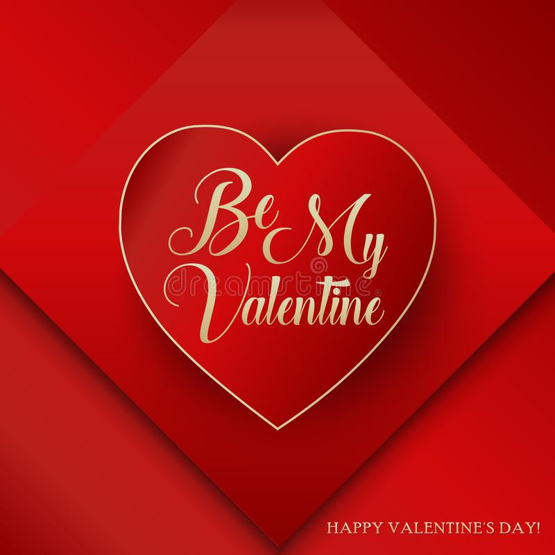 Sea mi Valentine Lettering Happy Valentines Day libre illustration