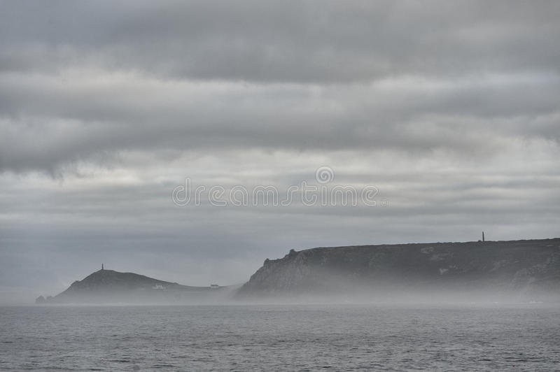 Sea mist royalty free stock photography