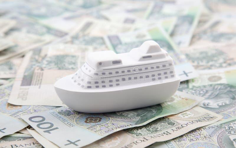 The sea of money stock image