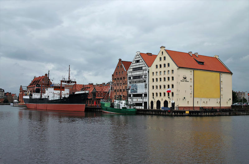 Download Sea Museum In Gdansk, Poland. Stock Image - Image: 15994889