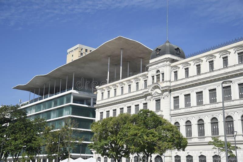 Sea Museum in Rio de Janeiro. `s city center stock image
