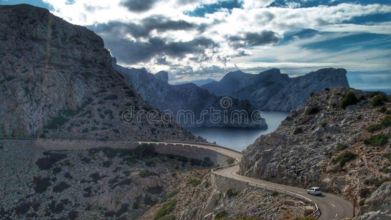 Mountain in Mallorca ES stock photos