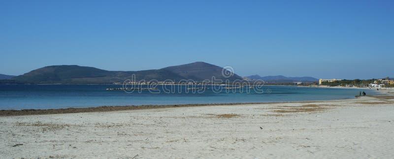 Sea near Alghero royalty free stock photo