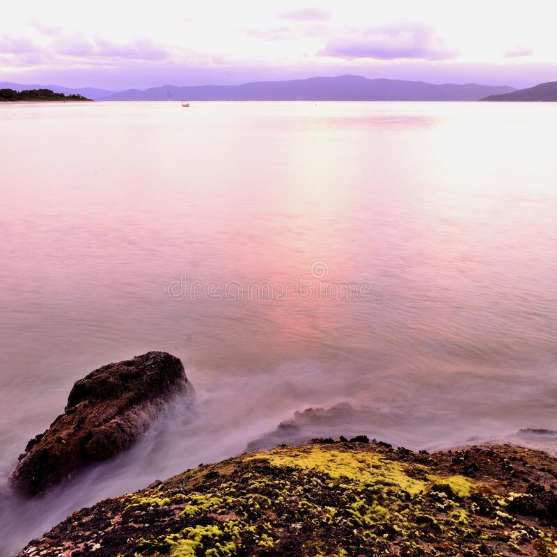 Sea Near Rock Formation Free Public Domain Cc0 Image